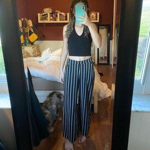 Cute Striped Beachy Pants